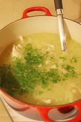 My Grandma's Chicken Soup
