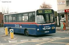 803 KDZ 5803 (onthebeast) Tags: city travel west bus buses station centre service wright dennis dart midlands wolverhampton twm bilston