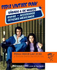 FERIA SABADO 6 DE MARZO (Erniebm) Tags: vintage flyer moda feria ropa accesorios estilismo vestuario producciones vintagepunk antimoda