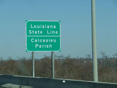 louisiana state line.