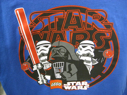 Star Wars Logo Shirt. Star Wars Lego Tee