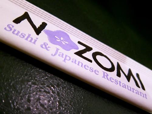 Nozomi Sushi & Japanese Restaurant