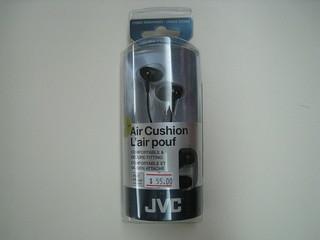 JVC HA-FX66 Black Stereo Headphones