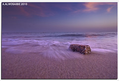 (A.Alwosaibie) Tags: light sunset sun beach rock photo nikon shot sigma spot move perm 1020mm 2010 d60 sey aalwosaibie