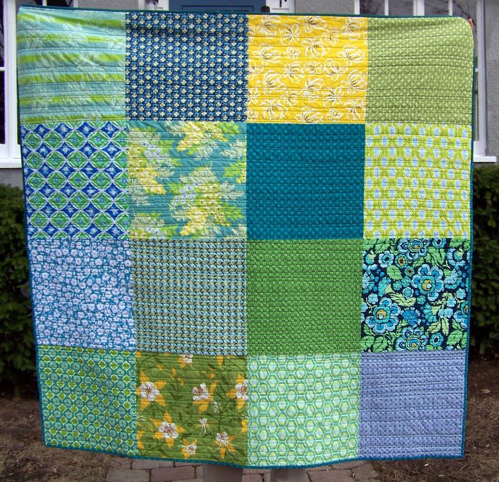 picnic quilt front