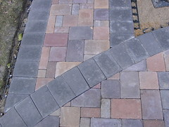 Paver detail (Stonepocket) Tags: minnesota landscape backyard patio edina ideas mn pavers stonepocket