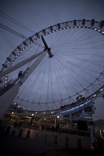 Attack of the London Eye