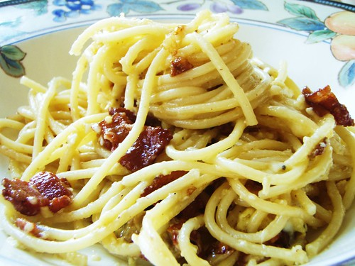 spaghetti carbonara - 10