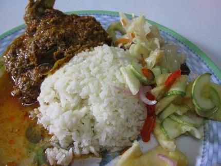 rendang rice