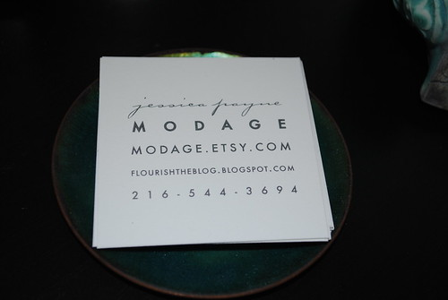 modage buisness cards