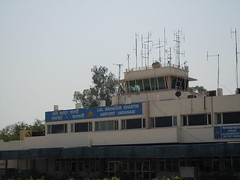 varanasi airport control tower (orclimber) Tags: india tower airport control varanasi