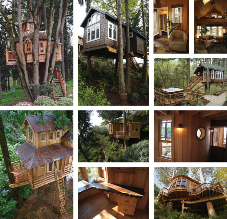 Treehouses by Tree House Workshop
