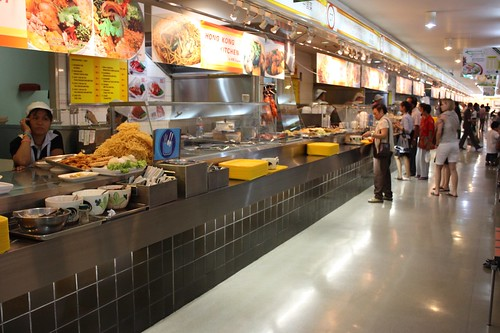 Food court in MBK