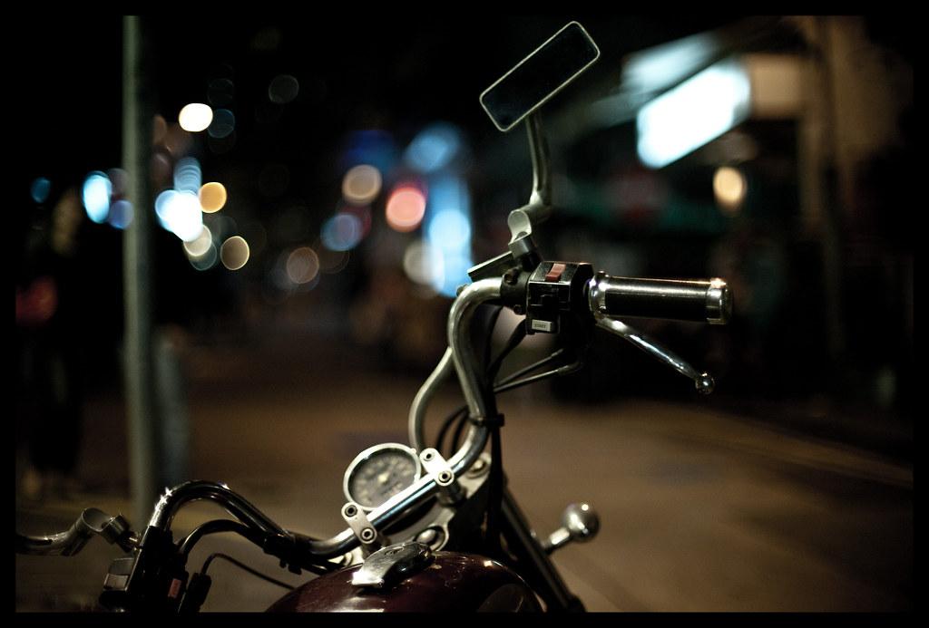 Bike & bokeh