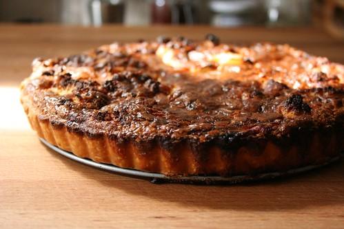Cauliflower and Caramelized Onion Tart – The Kitchen Illiterate