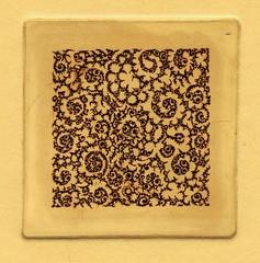 сложный орнамент-стандарт 001 (tim.spb) Tags: original etching postcard small ornament plates desigh открытки графика малые aquafortis формы офорт печатные
