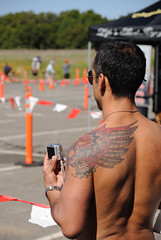 20100418_073 (Tom Spaulding) Tags: california ca tattoo folsom triathlon 2010 icebreaker granitebay folsomca icebreakertriathlon