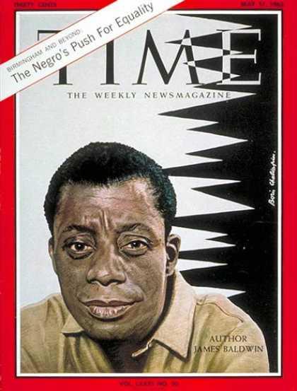 James Baldwin Time Cover