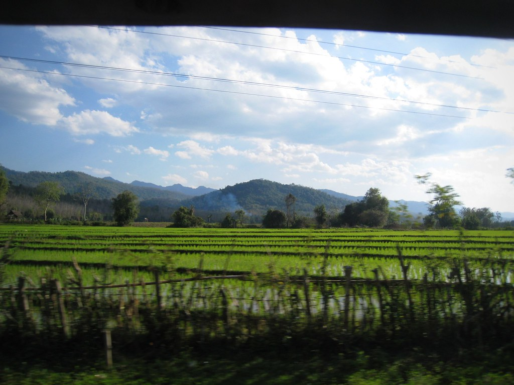 Sur la route vers Khuang Sy