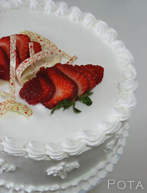 Gâteau aux fraises - Torta od jagoda