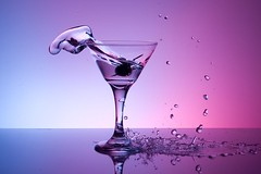 Well Shaken (ICT_photo) Tags: glass martini splash strobist ictphoto ianthomasguelphontario