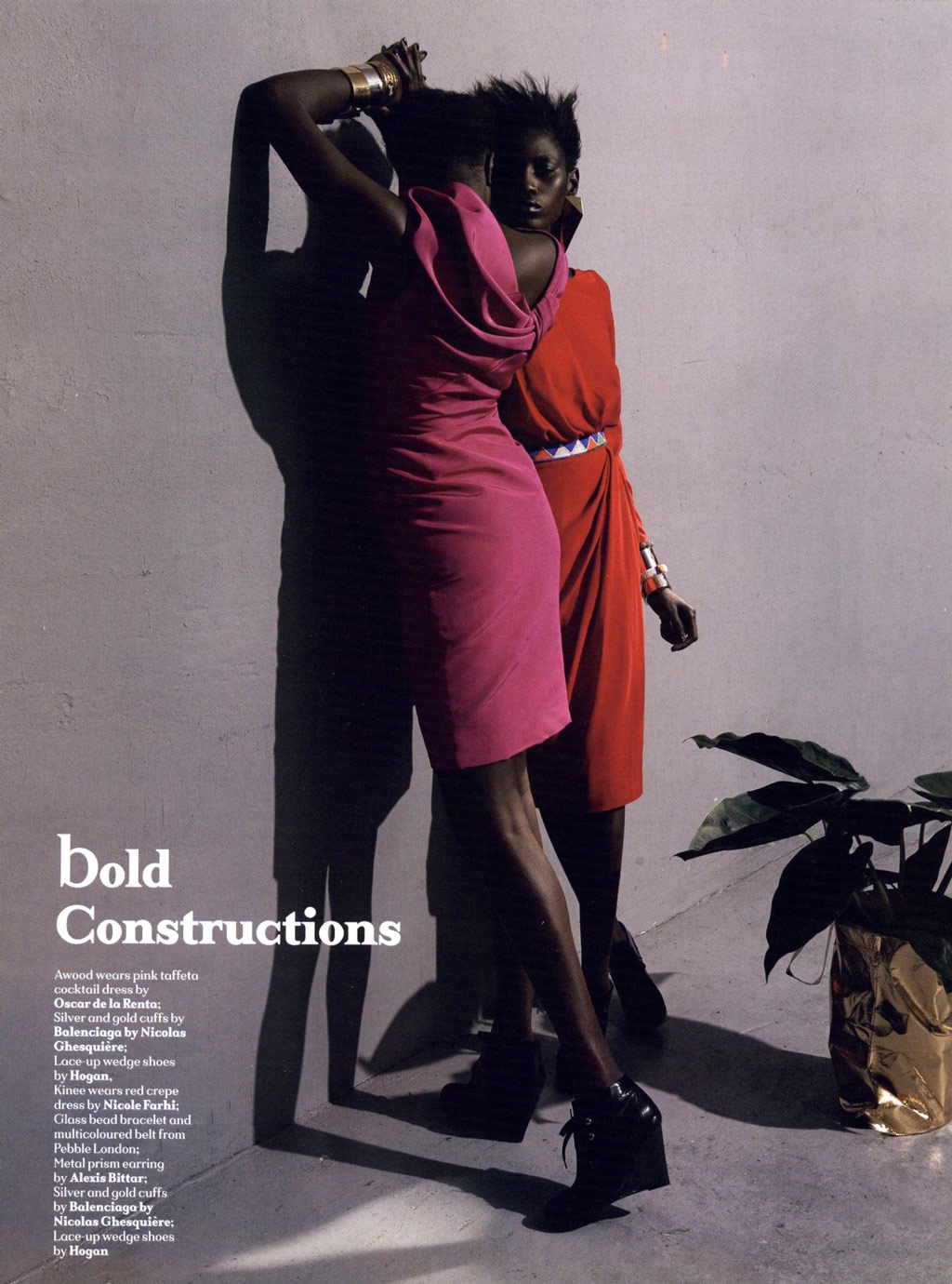 Bold Constructions - Another Magazine 2009