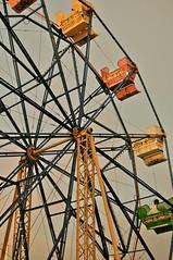 Ferris Wheel (Daummer) Tags: california wheel 35mm fun nikon ferris newport 18 zone bech d40