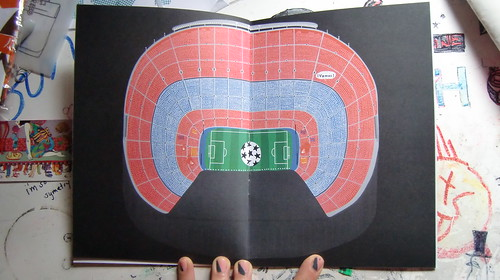 Oscar Bolton Green 'Football Stadiums' Zine