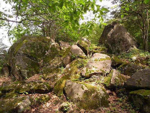 神野山の石文化@山添村-18