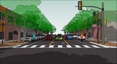 the 3-lane concept (by: E-W Gateway COG)
