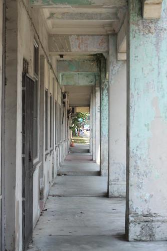 Run-down Shop-Houses