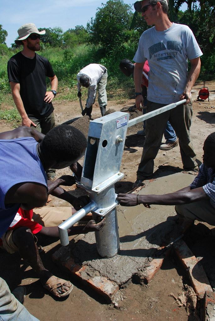 Sudan - June 2009, Pump Installation Gulu Village