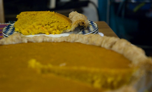 Psuedo Pumpkin Pie