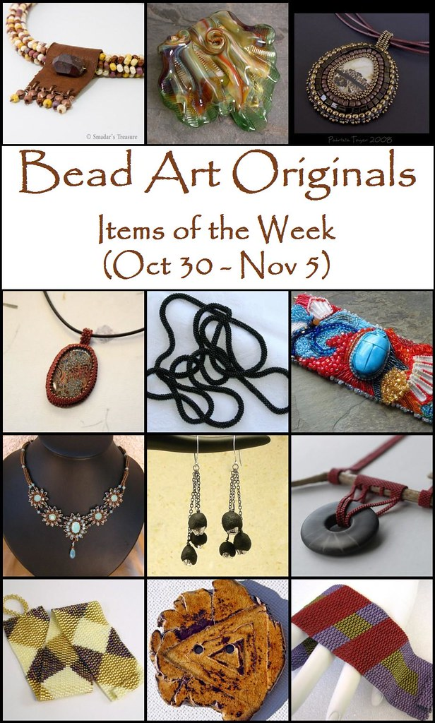 Bead Art Originals Items of the Week (Oct 30 - Nov 5)