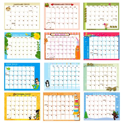 calendar-mosaic