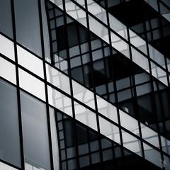 - windows - (FRJ photography) Tags: bw white black building window noir view nb et fentre blanc vue immeuble
