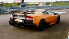 Lamborghini Murciélago LP670-4 SV (Ben Hodgson) Tags: orange car lamborghini supercar murciélago murcielago lambo thruxton hypercar superveloce lp6704sv