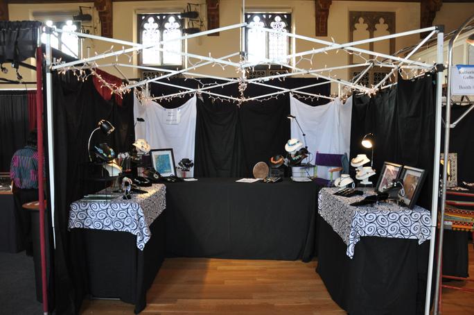 booth rearrange