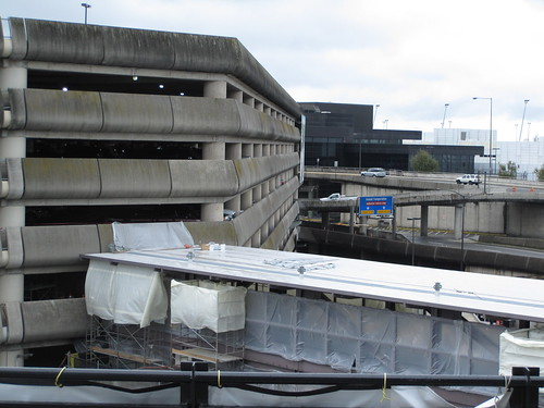 The Parking Garage and Airport Terminal