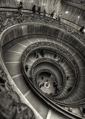 Roma (António Alfarroba) Tags: vatican rome roma museum stairs spiral museu vaticano caracol escadas doublespiral duplaespiral