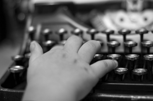 304:365 Touch typing