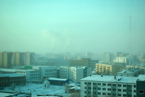 Cold as usual in Yakutsk. Any climate changes?