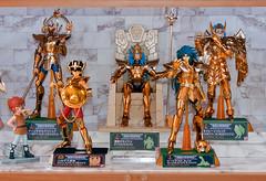 Poseidon Marine Generals (Jeckh) Tags: saint action collection knights zodiac cloth figures myth bandai seiya zodiaque caballeros chevaliers zodiaco cavalieri