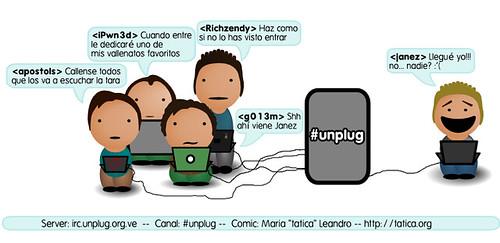 Mundo #Unplug: #1 Cuando la tara (Janez) llega a Unplug