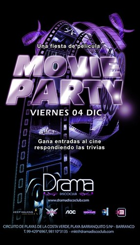 Movie Party - Drama Disco Club