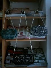 Belaideias (Forum - Atelier Das Artes) Tags: crochet biscuit tear bijutaria madeira malas trico tecido chacota fatbag trapilho pontotunisiano pontoperuano
