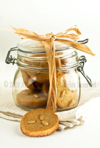Biscottini di farina di grano duro all'acqua di fiori d'arancio