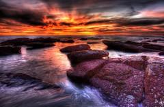 San Clemente Sunset (www.tropicalphotosbylarson.com) Tags: sunset beach tropical sanclemente tidepools tidepool beachscenery beachphotos beachphoto tropicalscenery tropicalphotos wwwtropicalphotosbylarsoncom tropicalphoto