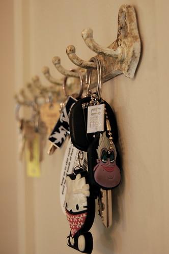 Old keys.