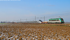 "ALSTOM AGV 001 ""Pegase"" (Luca Farina) Tags: railroad italy train italia country rail railway trains campagna astrid alstom bahn treno sncf reggioemilia ferrovia pegaso astride ntv voghera highspeedtrain modane agv pegase nikond60 altavelocit arenapo firenzeosmannoro testtrain ncls71921 e436 alessandriapiacenza e436mf sncffretitalia nuovotrasportoviaggiatori e436351 agv001 agvntv agvalstom automotricegranvitesse agvpegasealstom"